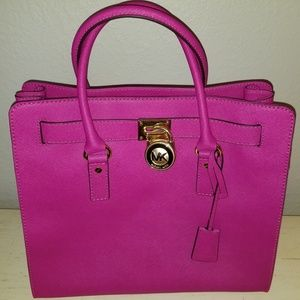Large Michael Kors Pink Tote -New